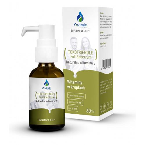 Avitale - TOKOTRIENOLE Full Spectrum Naturalna witamina E - 30 ml