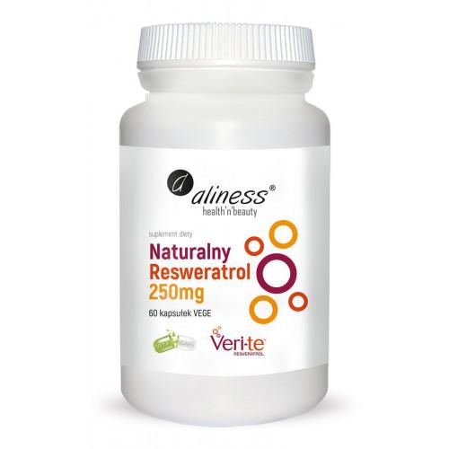 Aliness - Naturalny Resweratrol Veri-Te 250 mg - 60 kapsułek