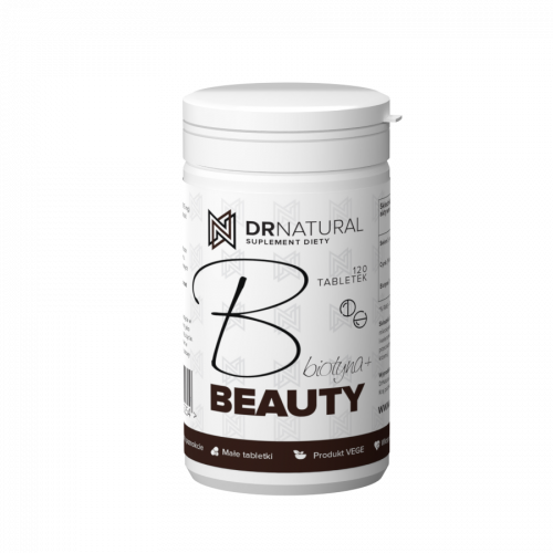 DrNatural - B Beauty Biotyna+ - 120 tabletek