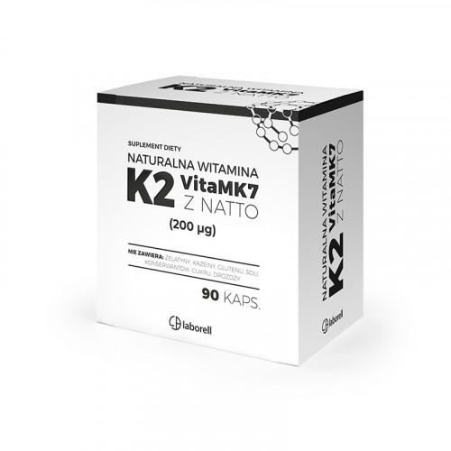 Laborell - Naturalna Witamina K2 200 µg - 90 kapsułek