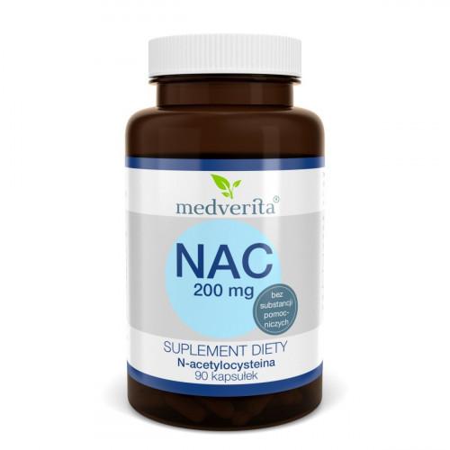 Medverita - NAC 200 mg - 90 kapsułek