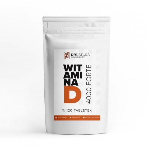 DrNatural - Witamina D 4000 FORTE - 120 tabletek