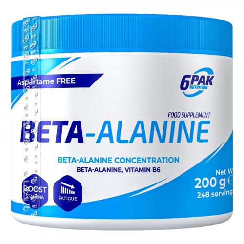 6PAK - Beta Alanine - 200 g