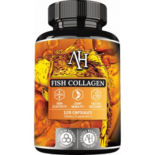 Apollo's Hegemony - Fish Collagen - 120 kapsułek