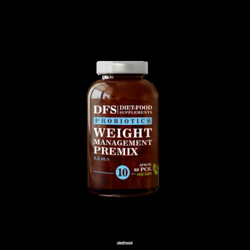 DFS - Weight management premix Nr 10 PROBIOTYK - 60 kapsułek