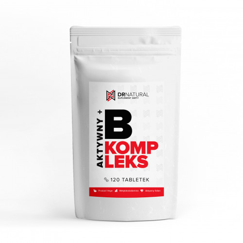 DrNatural - B Kompleks AKTYWNY + - 120 tabletek