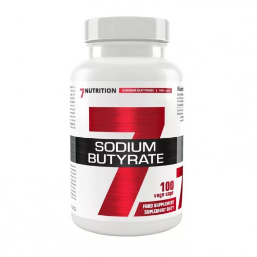 7Nutrition - Sodium Butyrate 580mg - 100 kapsułek
