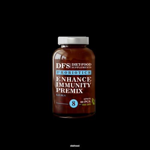 DFS - Enhance immunity premix Nr 8 PROBIOTYK - 60 kapsułek