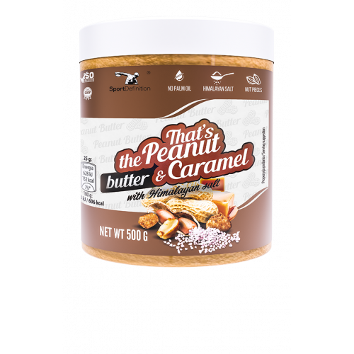 Sport Definition - That's the Peanut Butter & Carmel [with Himalayan salt] - 500 g