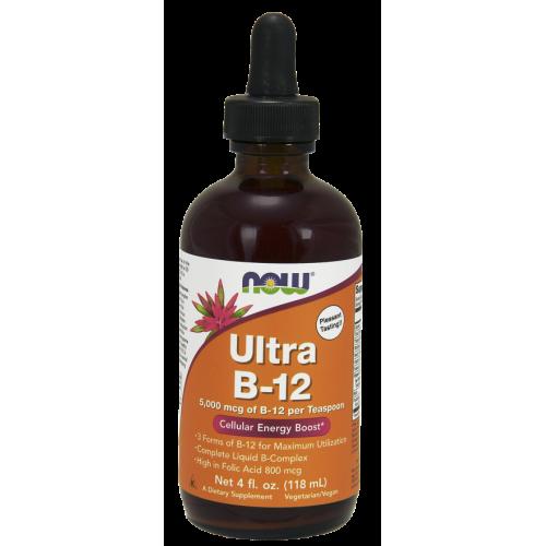 NOW - Ultra B-12 - 118 ml