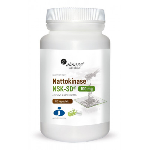 Aliness - Nattokinase NSK-SD® 100 mg - 60 kapsułek