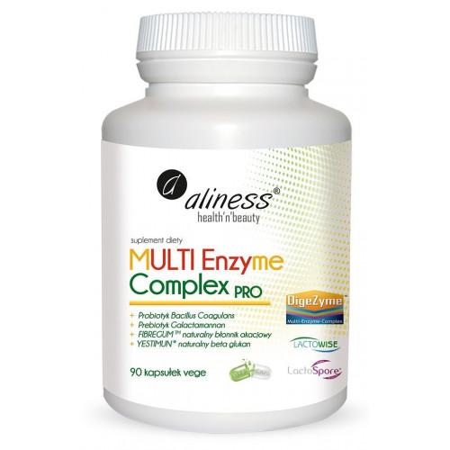 Aliness - MULTI Enzyme Complex PRO - 90 kapsułek
