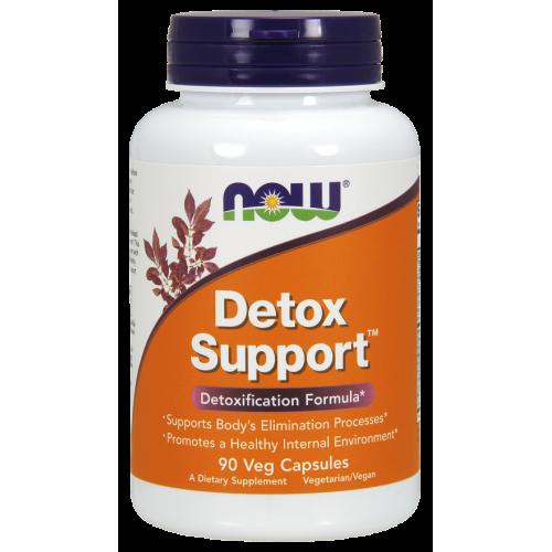 NOW - Detox Support - 90 kapsułek