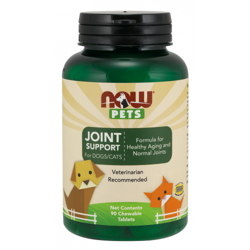 NOW Pets - Joint Support for Dogs & Cats - 90 tabletek
