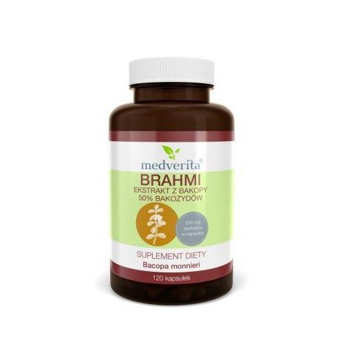 Medverita - Brahmi 50% bakozydów - 120 kapsułek