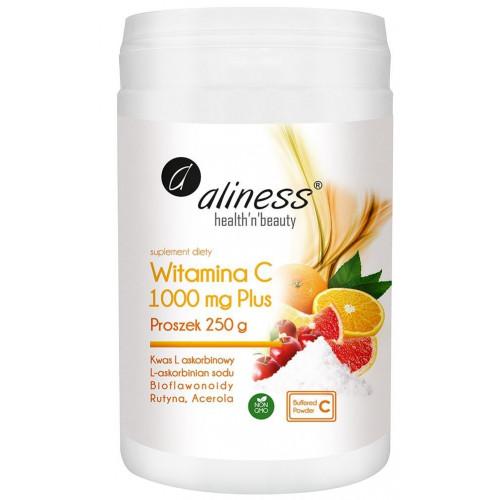 Aliness - Witamina C 1000 Buforowana Plus - 250 g