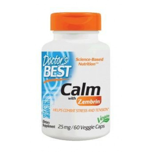 Doctor's Best - Calm with Zembrin 25 mg - 60 kapsułek