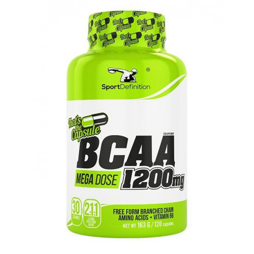 Sport Definition - BCAA 1200 mg Thats the Capsule - 120 kapsułek