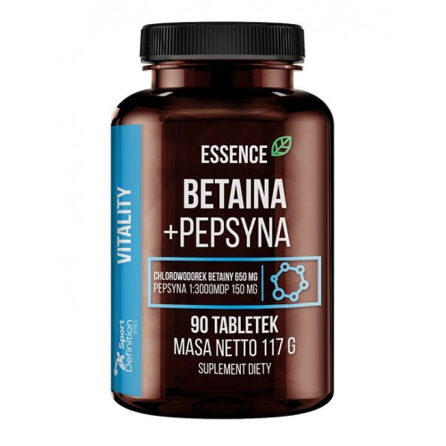 Essence - Betaina + Pepsyna - 90 tabletek