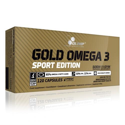 Olimp - Gold Omega 3 Sport Edition - 120 kapsułek