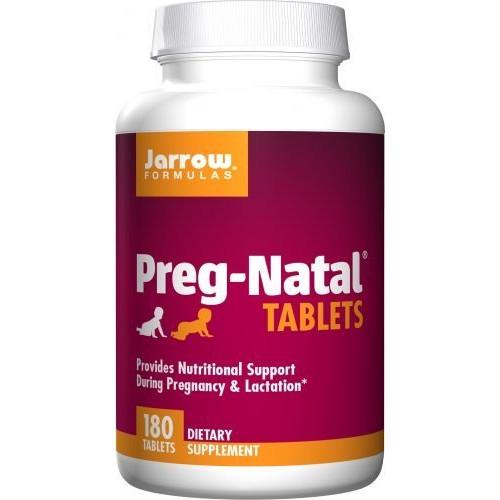 Jarrow - Preg-Natal Tablets - 180 tabletek