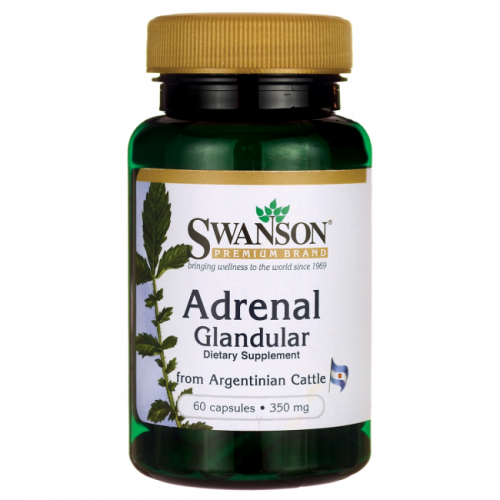 Swanson - Adrenal Glandular - 60 kapsułek