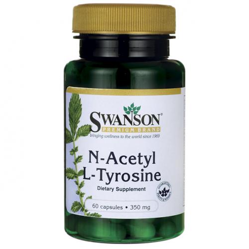 Swanson - N-Acetyl L-Tyrosine - 60 kapsułek