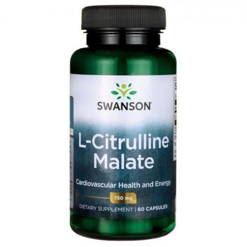 Swanson - L-Citrulline Malate Complex 750 mg - 60 kapsułek
