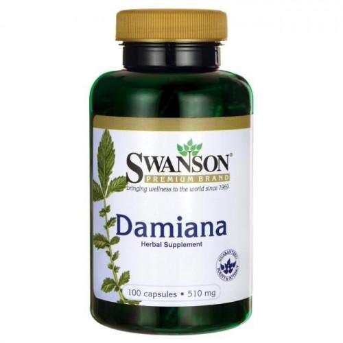 Swanson - Damiana - 100 kapsułek