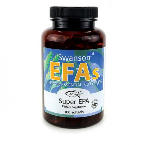 Swanson - Super EPA - 100 kapsułek