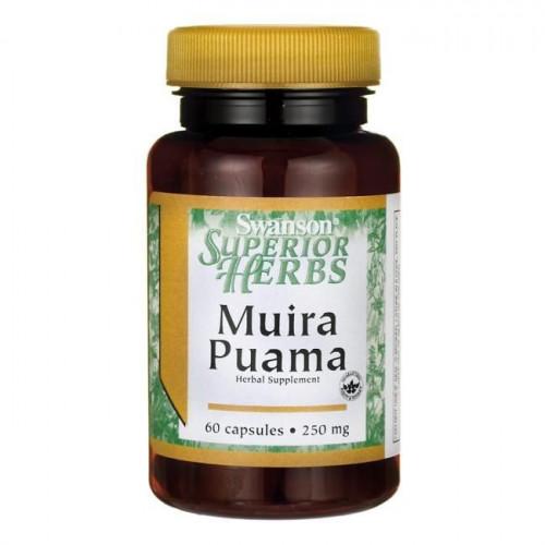 Swanson - Muira Puama - 60 kapsułek