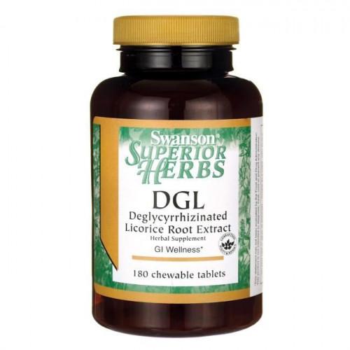 Swanson - DGL 770 mg - 180 tabletek