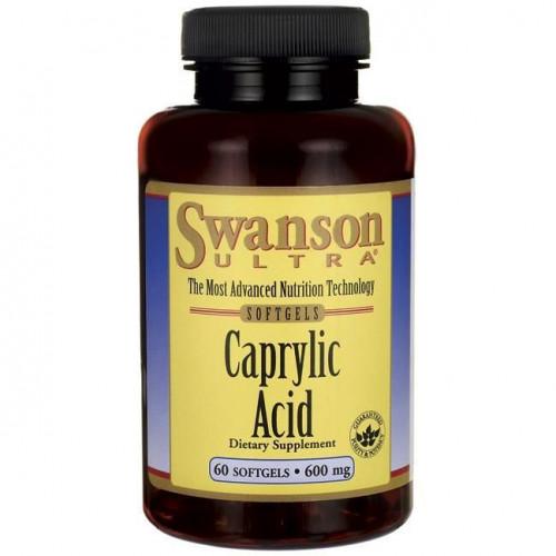 Swanson - Caprylic Acid - 60 kapsułek