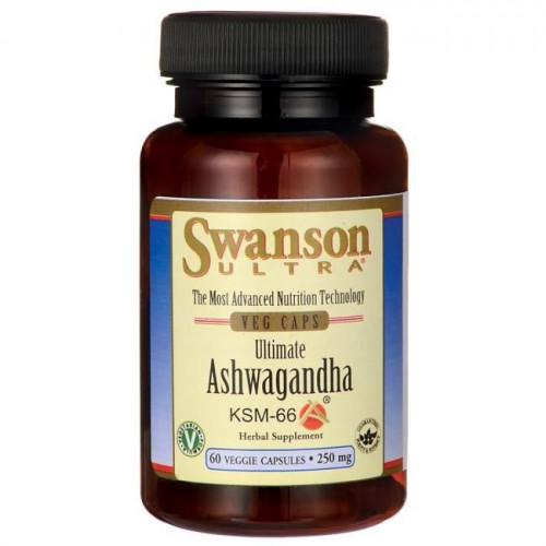 Swanson - Ultimate Ashwagandha KSM-66 - 60 kapsułek