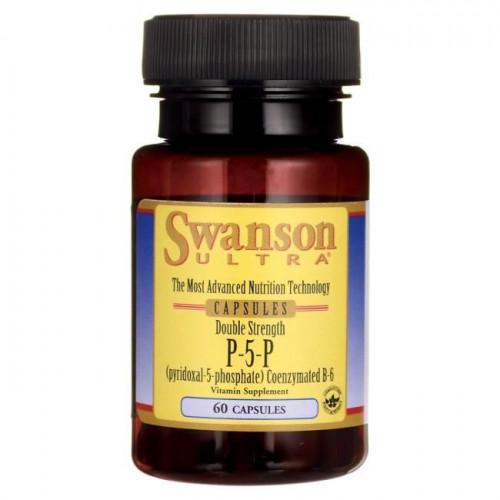 Swanson - P-5-P Coenzymated Vitamin B-6 - 60 kapsułek