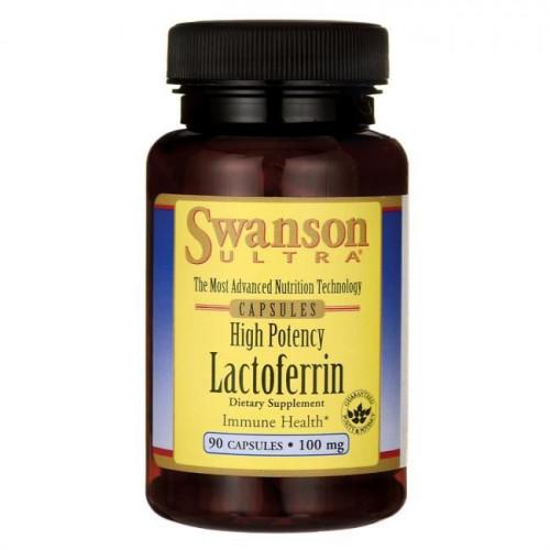 Swanson - High Potency Lactoferrin - 90 kapsułek