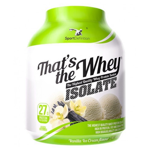 Sport Definition - That's the Whey ISOLATE - 2100 g