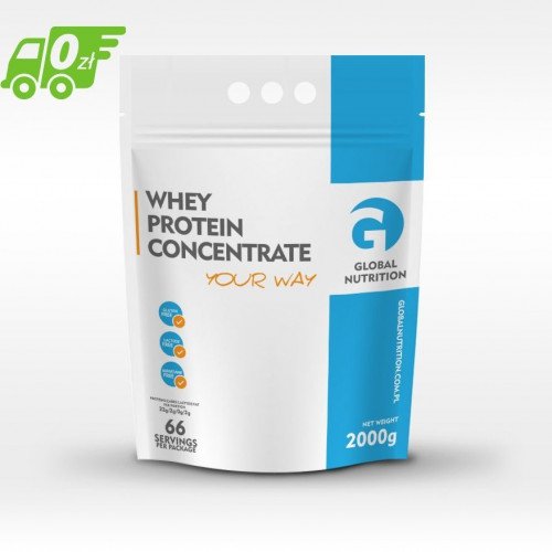 Global Nutrition - Whey Protein Concentrate - 700 g
