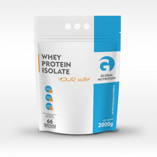 Global Nutrition - Whey Protein Isolate - 2000 g