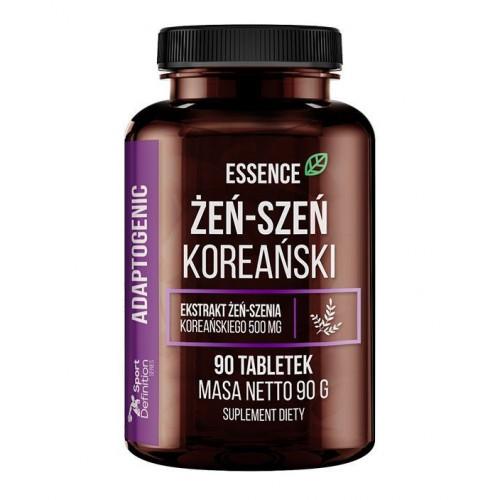 Essence - Żeń-szeń koreański - 90 tabletek