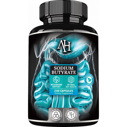 Apollo's Hegemony - Sodium Butyrate Maślan Sodu - 240 kapsułek