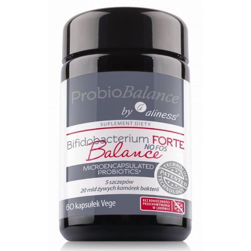 ProbioBalance - Bifidobacterium FORTE Balance NO FOS - 60 kapsułek