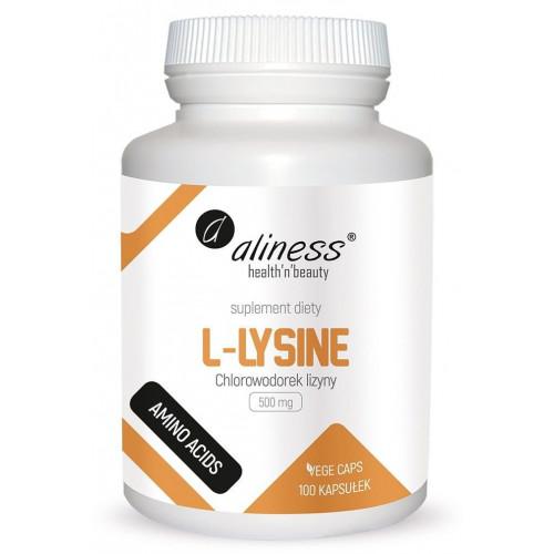 Aliness - L-Lysine 500 mg - 100 kapsułek