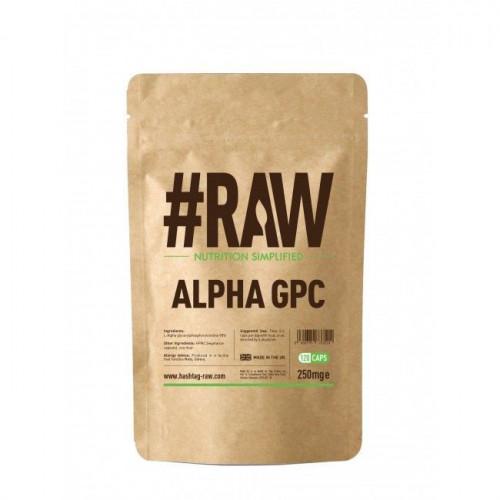 #RAW - Alpha GPC 250 mg - 120 kapsułek