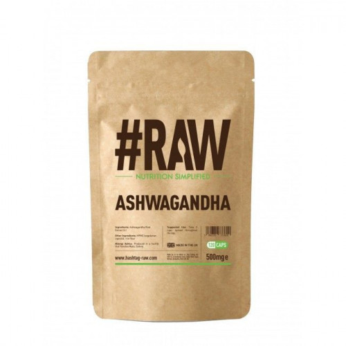 #RAW - Ashwagandha Extract - 120 kapsułek
