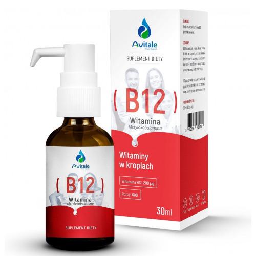 Avitale - Witamina B12 Metylokobalamina - 30 ml