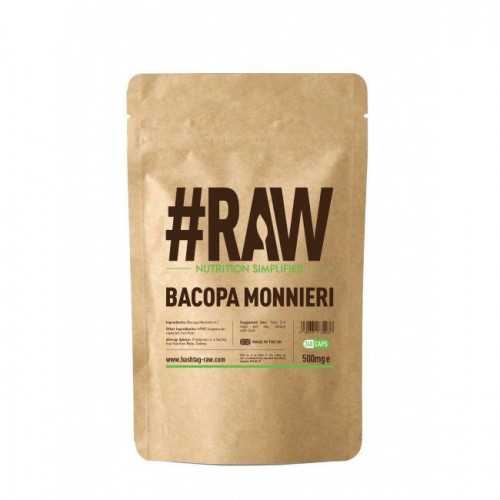 #RAW - Bacopa Monnieri 500 mg - 240 kapsułek