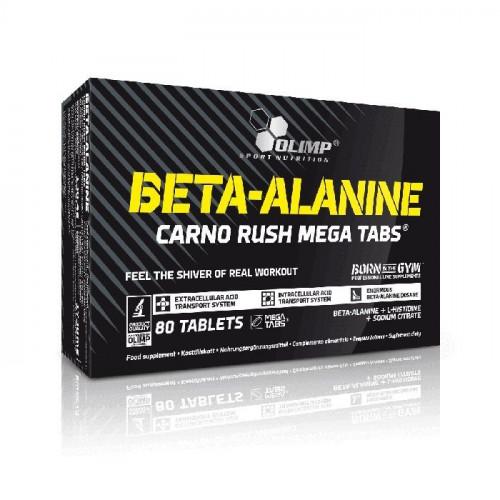 Olimp - Beta-alanine Carno Rush Mega Tabs® - 80 tabletek