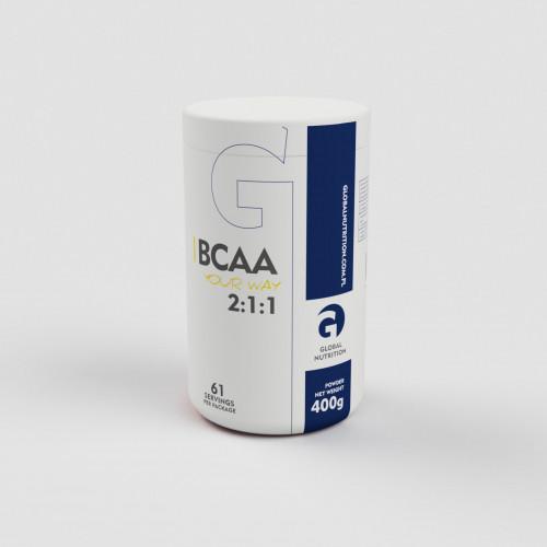 Global Nutrition - BCAA 2:1:1 - 400 g