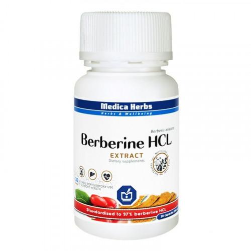 Medica Herbs - Berberine HCl - 30 kapsułek